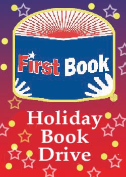 First Book holiday book drive
