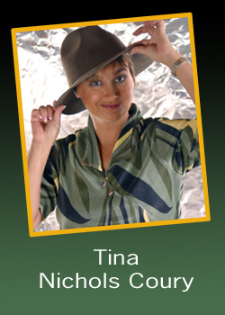 Tina Nichols Coury with hat