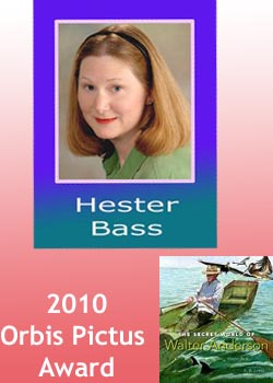 Hester Bass winning