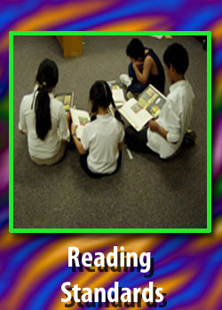 Reading standards use