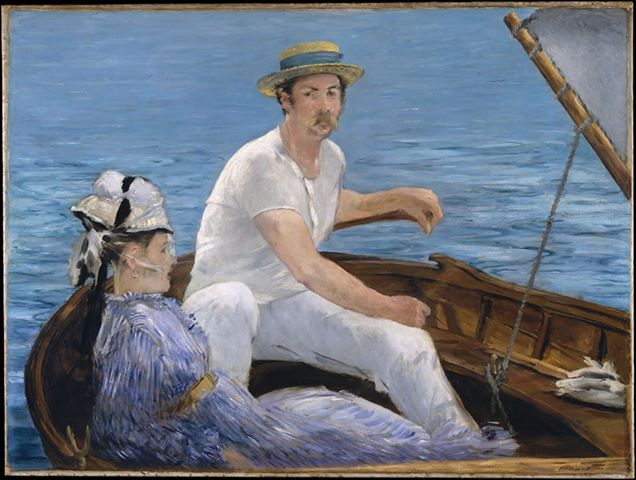 The Boaters, Edouard Manet, 1874