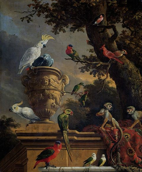 The Menagerie, Melchoir de Hondecoeter, ca. 1690