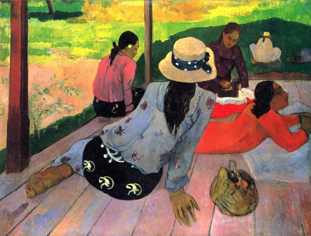The Siesta, Paul Gauguin, 1892-94