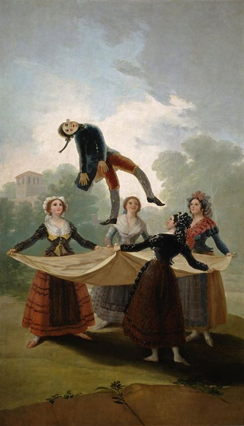 The Puppet (El Pelele), Francisco de Goya, 1791-92