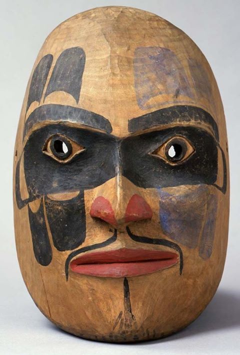 Face Mask, unknown Kitimat artist, ca. 1900