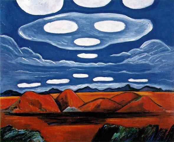 Carnelian Country, Marsden Hartley, 1932