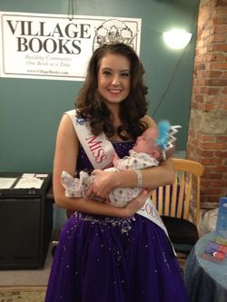 Miss Whatcom County with Baby